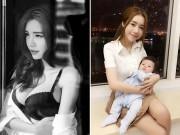 Bà bầu - Elly Trần: 'Tôi như bị khủng bố sau khi sinh con lần 2'