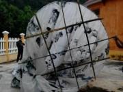 Mặt người trên quả cầu bí ẩn ở Quảng Nam là ai?