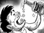 Tin tức - Kinh hãi công thức: Nước lã + cồn = rượu ngoại xịn