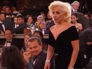 """Leo DiCaprio xin lỗi Lady Gaga vì biểu cảm """"khó đỡ"""" tại QCV"""