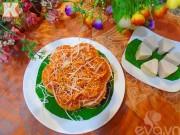 Bếp Eva - Xôi hai màu thơm ngon, đẹp mắt