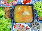 Bếp Eva - Lẩu cá vược nóng hổi ngày lạnh
