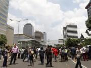 Tin tức - Hiện trường 7 vụ nổ rung chuyển trung tâm thủ đô Indonesia