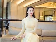HH Ngọc Diễm đeo trang sức 100 triệu làm MC
