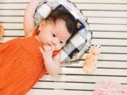 Ngỡ ngàng ảnh cận mặt con gái Trang Trần xinh như thiên thần