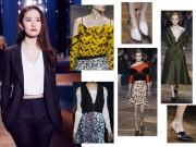 Thời trang - Lưu Diệc Phi thanh lịch ngồi hàng ghế đầu show Dior cao cấp