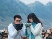 Eva Yêu - Cặp đôi Việt gặp may khi ảnh cưới có tuyết rơi như trời Tây