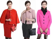 Những mẫu áo khoác nữ công sở không nên tiếc tiền