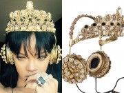 Thời trang - Tai nghe 200 triệu giống Rihanna gây sốt