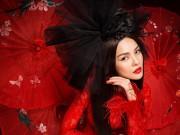 Thời trang - Dương Cẩm Lynh đẹp nồng nàn trong bộ ảnh Áo dài Tết