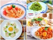 Bếp Eva - 5 món mì Ý ngon cho ngày mới