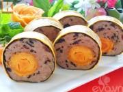 Bếp Eva - Chả trứng muối ngũ sắc lạ miệng mà ngon