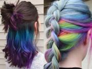 Làm đẹp - Đầu xuân, nhuộm tóc underlight để rực rỡ cả năm