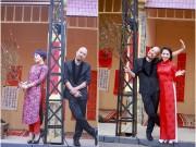 Xem & Đọc - Ngọc Khuê, MC Mỹ Lan  tha thướt áo dài đón xuân