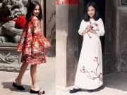 Thời trang - Mẫu nhí nổi tiếng Sài Gòn siêu cá tính khi mặc áo dài