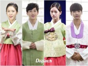 Làng sao - Sao Hàn xúng xính diện hanbok đón Tết