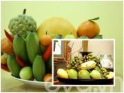 Bếp Eva - Cách cúng mâm ngũ quả của hai miền Nam, Bắc