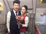 Eva Yêu - Màn cầu hôn lãng mạn trên trời trong đêm giao thừa 2016