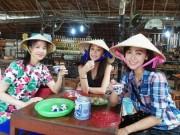 Làng sao - Á hậu Hongkong đến Việt Nam đón Tết