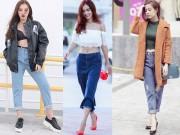 Tiết lộ những kiểu quần jeans được lòng phái đẹp nhất