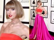 Taylor Swift khiến fan tròn mắt vì mặc táo bạo tại Grammy