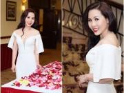 Ảnh đẹp Eva - Nữ hoàng doanh nhân Kim Chi quyến rũ với sắc trắng