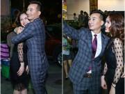 """MC Thành Trung ôm chặt Giang Hồng Ngọc xóa bỏ """"hiềm khích"""""""