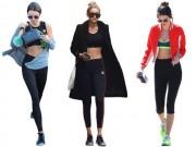 Thời trang - Thời trang gym hoàn hảo của Kendall Jenner và Gigi Hadid