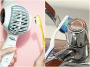 Nhà đẹp - 7 vật dụng trong nhà phải cọ bằng bàn chải đánh răng