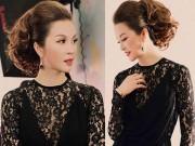 Khó rời mắt trước vẻ đẹp tựa nữ thần của MC Thanh Mai