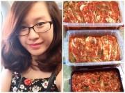 Bếp Eva - 9x xinh đẹp có công thức làm kim chi đạt 3 nghìn lượt chia sẻ
