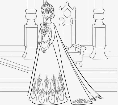 Image result for Tranh tô màu công chúa