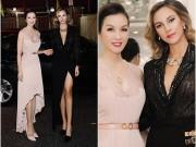 MC Thanh Mai tự tin đọ sắc bên Hoa hậu Venezuela