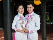 Thời trang - Họa tiết hoa cho áo dài trắng thêm duyên