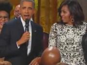 Clip Eva - Tổng thống Obama cất tiếng hát khiến mọi người ngỡ ngàng