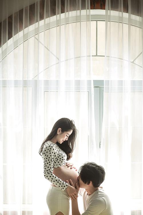 Vợ Bầu Tuyệt Xinh Của Hotboy Ba Duy Khiến Dan Mạng Ngay Ngất