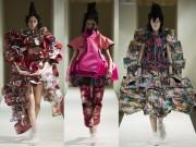 Thời trang - Comme des Garcons điêu khắc trên quần áo