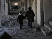 """Tin tức - Đau thương cảnh 25 vạn trẻ em Syria """"chờ ngày chết"""""""