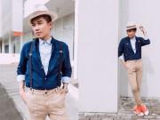 Thời trang - Ngắm street style của chàng stylist mặc gì cũng đẹp