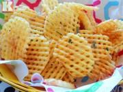 Bếp Eva - Cách làm khoai tây chiên kiểu lưới giòn tan