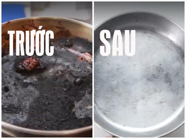 Cứu chảo rán bị cháy chỉ với một nguyên liệu làm bánh