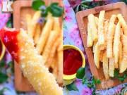Bếp Eva - Khoai tây lắc phô mai ngon như ngoài hàng