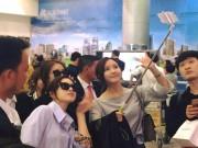 Sân bay Tân Sơn Nhất náo loạn khi T-ara xuất hiện