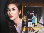Làng sao - Vợ chồng Hà Tăng thắm thiết hơn sau khi có con