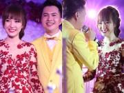 Làng sao - Nam Cường hát tặng bà xã 9X trong đám cưới