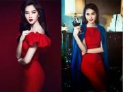 Làm đẹp - Những lần trang điểm đậm hiếm hoi của Hoa hậu Thu Thảo