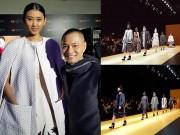 """Thời trang - Công Trí tái sinh lụa """"quốc bảo"""" Việt tại Tokyo"""