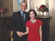 Làng sao - Tổng thống Obama khen Lưu Hiểu Khánh đẹp, trẻ trung