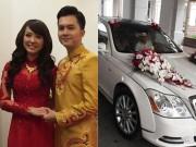 Nam Cường đi xe triệu đô rước dâu tại Hà Nội