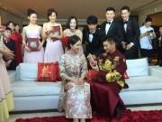 Ngô Kỳ Long chật vật tới đón cô dâu Lưu Thi Thi